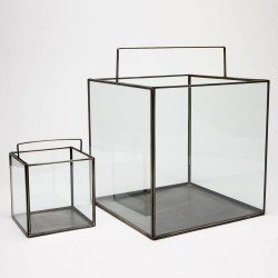 Glass Boxes with Handle